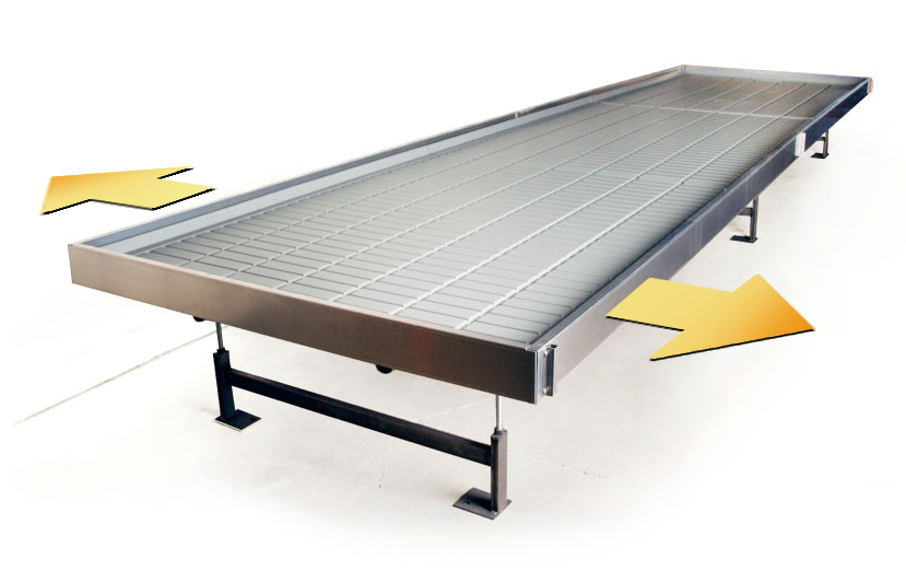 We Manufacture Our Own Table Systems Whether Clients Want A 5u0027 Wide Rolling  Table Down The Center Or 3u0027 Wide Fixed Tables Along The Sides.